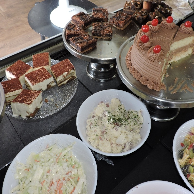 Fresh Salads and Desserts