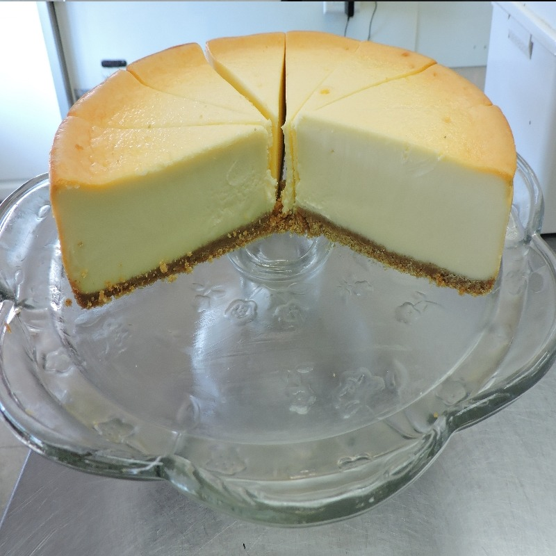 Homemade cheese cake
